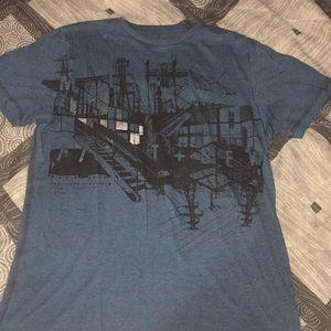 Men's Marc echo cut & sew medium shirt